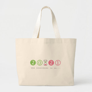 Turning 21 Years Old Large Tote Bag