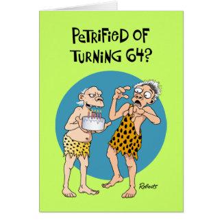 Turning 64 Birthday Card