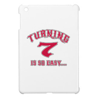 Turning 7 Is So Easy Birthday iPad Mini Cover