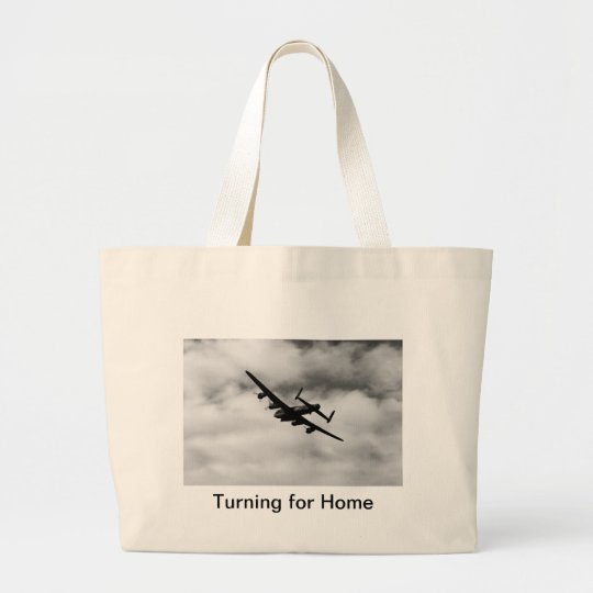 Turning for Home Large Tote Bag