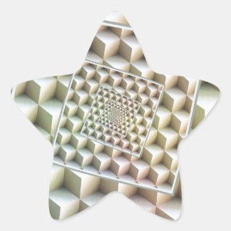 Turning Into Infinity Star Sticker