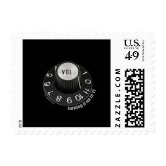 Turning it up to 11 postage stamp
