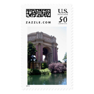 Turning Moment Palace of Fine Arts Photo Stamp