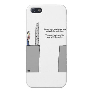Turning Obstacles into Solutions iPhone SE/5/5s Case