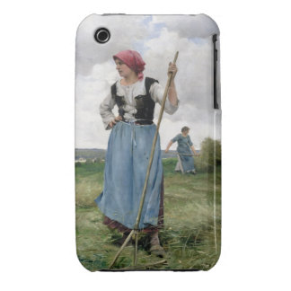 Turning the Hay (oil on canvas) Case-Mate iPhone 3 Case