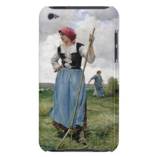 Turning the Hay (oil on canvas) iPod Touch Case-Mate Case