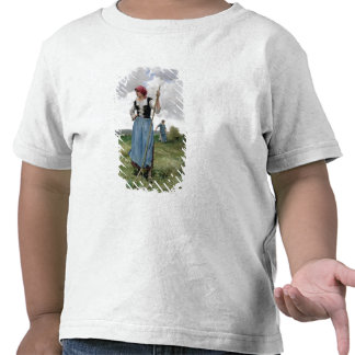 Turning the Hay (oil on canvas) Tshirt