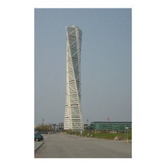 Turning Torso Building - Malmö Sweden Personalized Stationery
