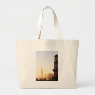 Turning torso of Malmo pious North Harbour Large Tote Bag