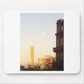 Turning torso of Malmo pious North Harbour Mouse Pad
