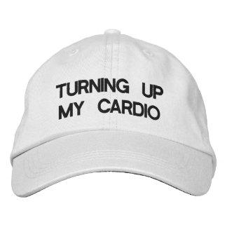 Turning Up My Cardio baseball cap