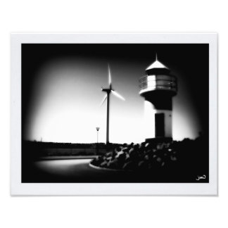 Turning Wind Into Light Photo Print