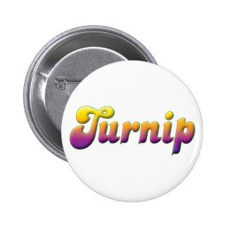 Turnip Pinback Button