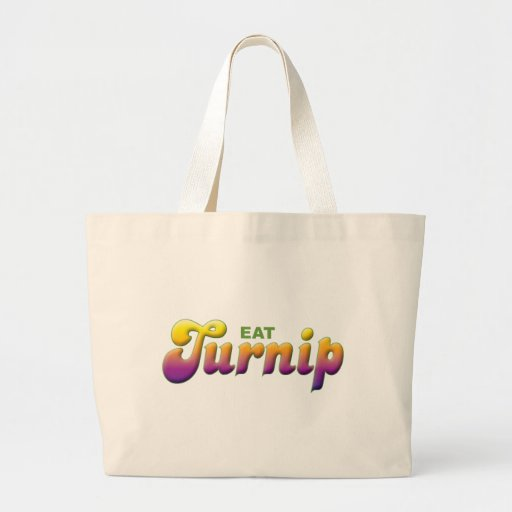 Turnip Eat Canvas Bags