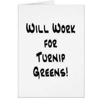 Turnip Greens Card