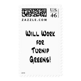 Turnip Greens Stamp