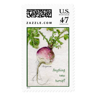 Turnip Postage Stamps