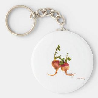 Turnip your tastebuds keychain