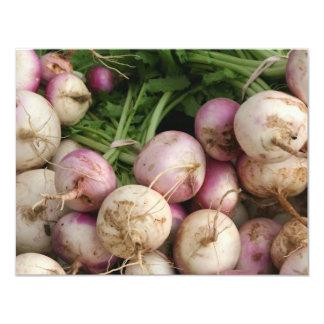 Turnips 4.25x5.5 Paper Invitation Card