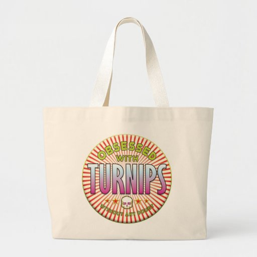 Turnips Obsessed R Canvas Bag