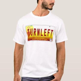 TURNLEFT NM Plate T-Shirt