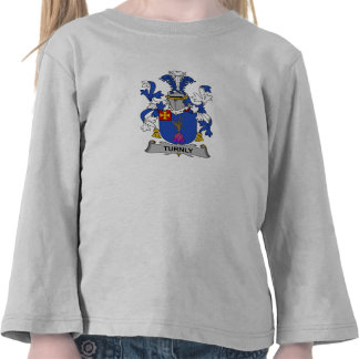 Turnly Family Crest T Shirt