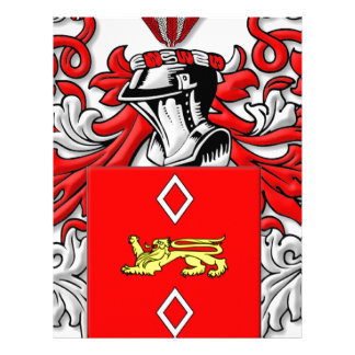 Turnmire Coat of Arms Letterhead Design