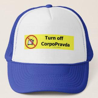 TurnOffCorpoPravda Trucker Hat