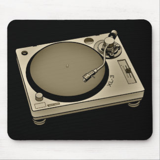 Turntable2 Mouse Pad