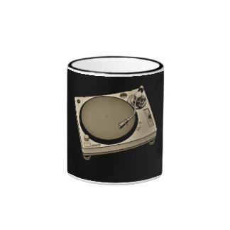 Turntable2 Ringer Coffee Mug