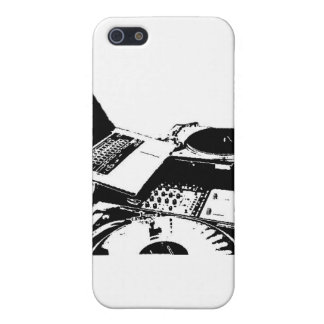 turntable black and white iPhone SE/5/5s cover