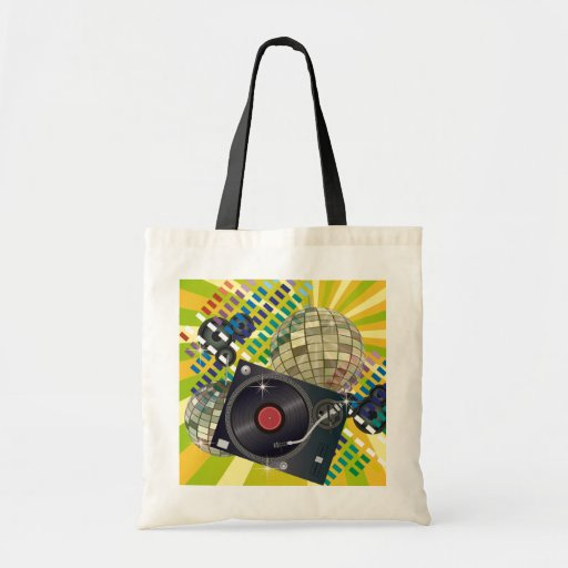 Turntable Canvas Bags