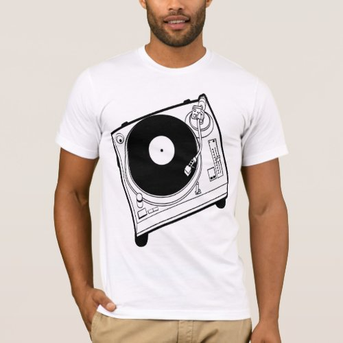 Turntable Dj Tee