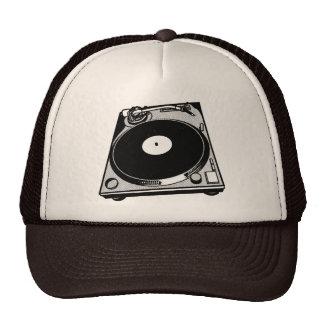 Turntable Graphic Trucker Hat