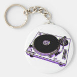 Turntable Key Chains