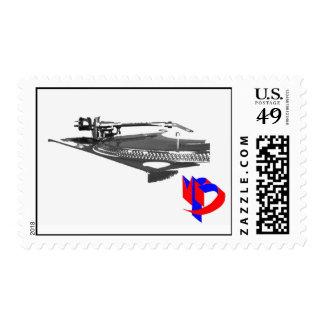 turntable mr bee design stamp