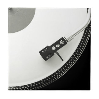Turntable Needle Record Player Tile