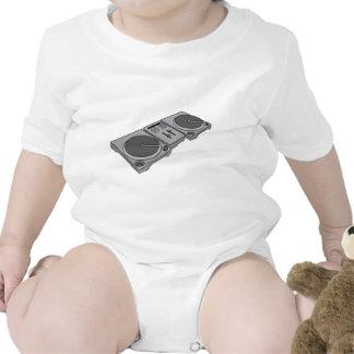 Turntable Phonograph Record Player DJ Tee Shirt