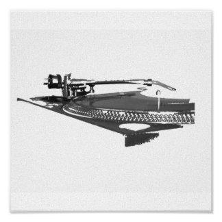 turntable picture poster