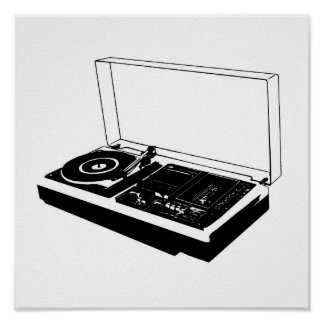 Turntable Print