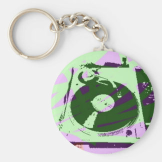 Turntable Product Keychain