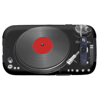 Turntable Samsung Galaxy Case Galaxy S3 Cases