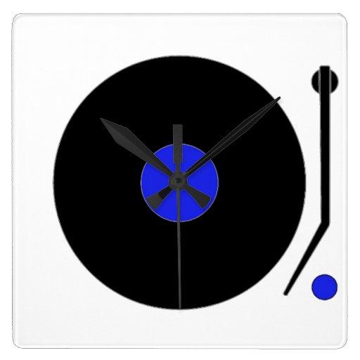 Turntable Wall Clock