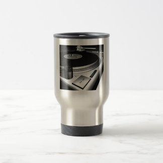 turntables 15 oz stainless steel travel mug