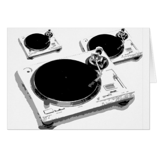 turntables card