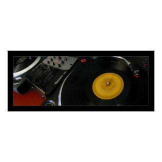 Turntables Poster