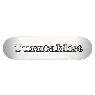 Turntablist Skate Board Decks