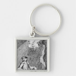 Turpin as he Concealed Himself in a Cave Keychain