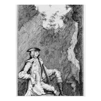 Turpin as he Concealed Himself in a Cave Postcard