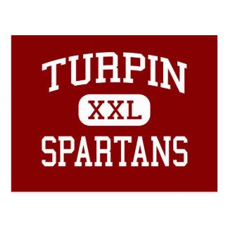 Turpin - Spartans - High School secundaria - Cinci Tarjetas Postales